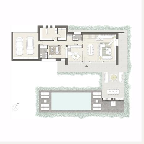 Simple planimetrie ville descrizione with planimetrie for Piante case moderne