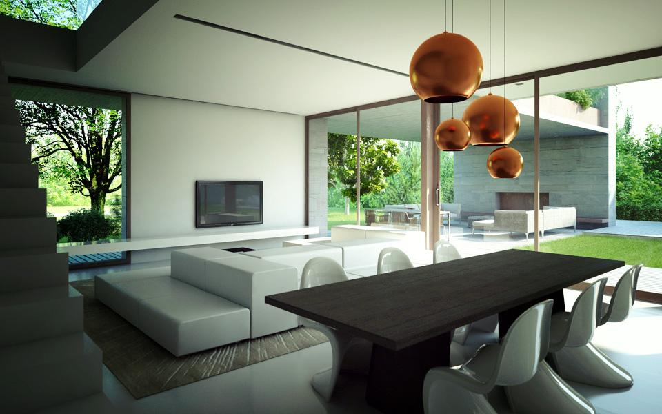 Villa eurosia edilc for Interni ville moderne